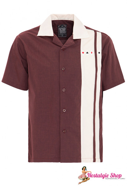 King Kerosin Bowling Shirt - Poker
