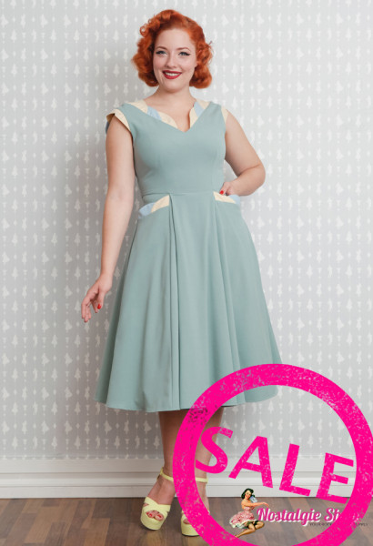 Faustina-Mint Swingkleid Miss Candyfloss