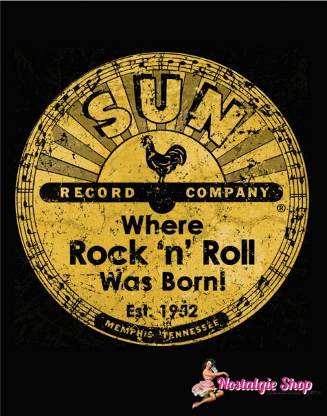 Steady Sun Records T-Shirt - Sun Distressed