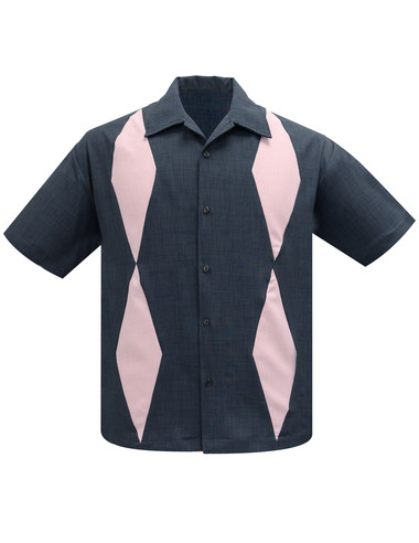 Steady Bowlingshirt Diamond Duo