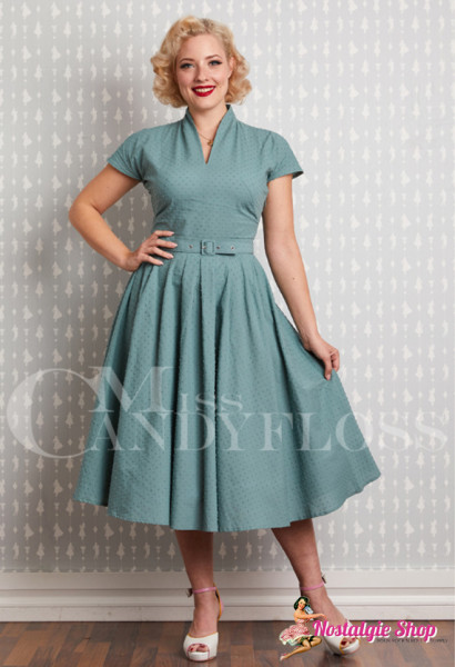 Miss Candyfloss Arina-Mint Swingkleid