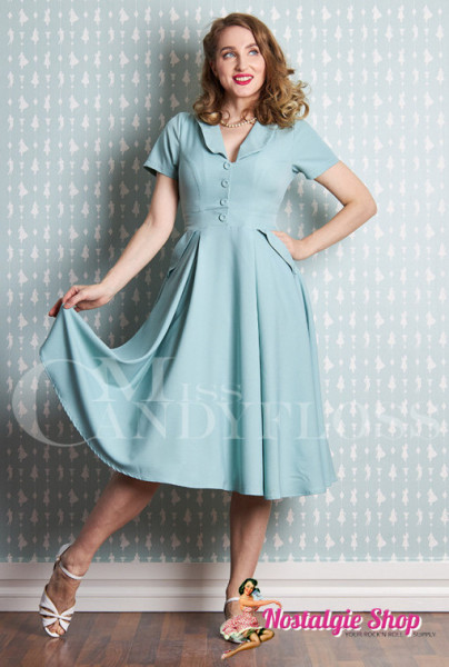 Miss Candyfloss Matia-Minty Swingkleid