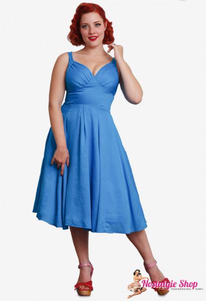 Festliches Trägerkleid Nydia-Blue