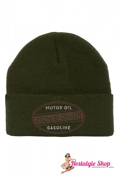 King Kerosin Strickmütze - Gasoline