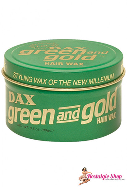 DAX Green and Gold - Pomade