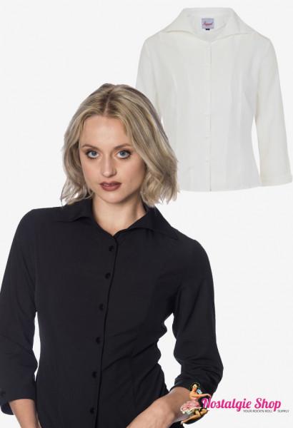 Janine Bluse - schwarz oder weiß