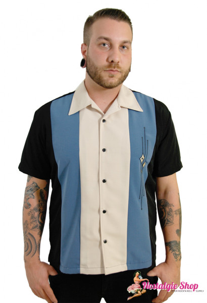 Steady Retro Bowling Shirt - The Trinity