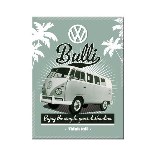 Blechschild 30 x 40 VW Retro Bulli