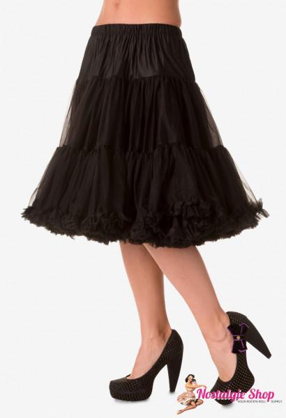Petticoat Lang - schwarz