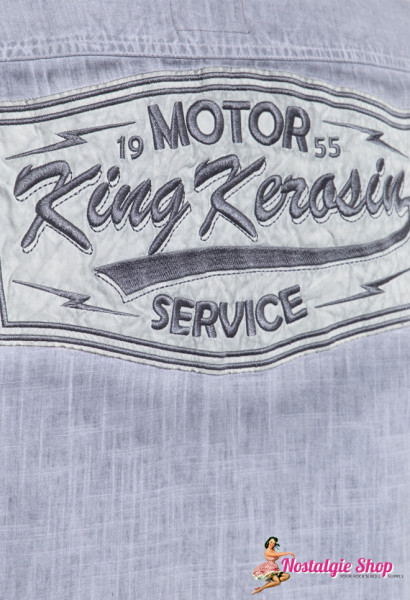 KK Oilwashed Workshirt Motor Service - grau oder sand