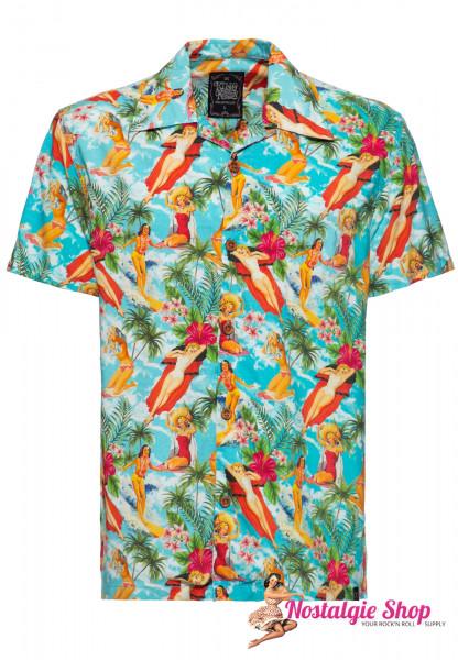 "King Kerosin Hawaii-Hemd ""Vintage Summer"""