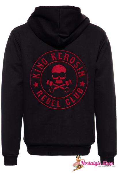 KK Sweatjacke Rebel Club mit Softshell-Innenfutter