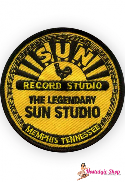 Running Bear Sun Records - Aufnäher