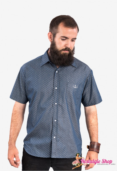 Steady Retro Western Shirt - Half Seas Over