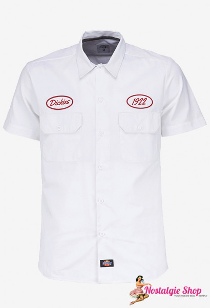 Workshirt Rotonda South - weiß