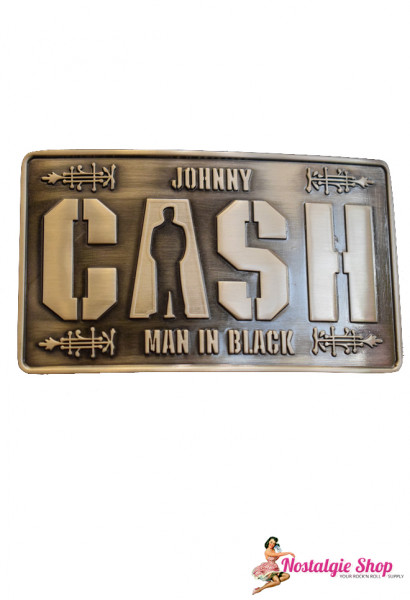 Rumble 59 Buckle - Johnny Cash
