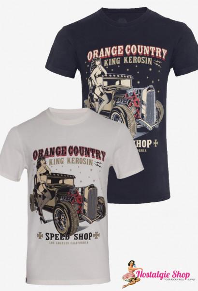 KK Orange Country T-Shirt blau oder weiß