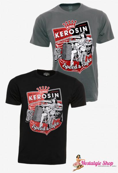 KK Speed and Style T-Shirt grau oder schwarz