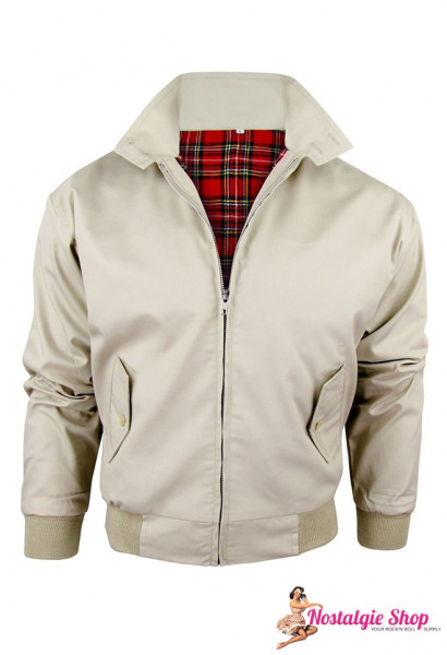 Harrington Jacke - sand