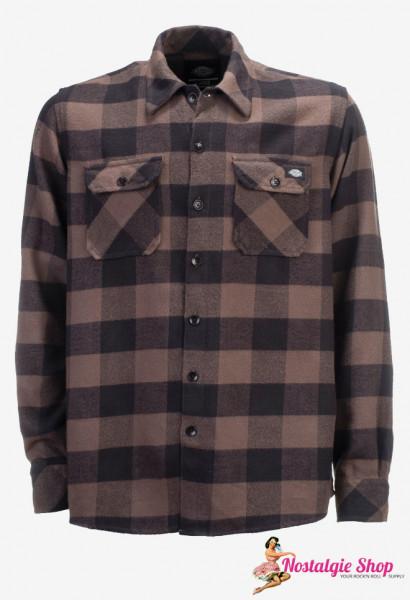 Dickies Holzfällerhemd Sacramento - gravel grau