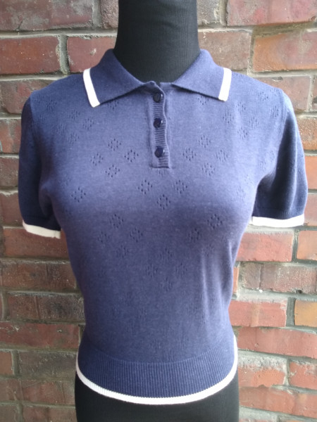 Banned Stricktop navy