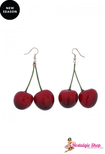 Collectif Delicious Cherries Ohrringe