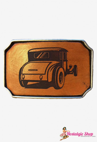 Rock cat Roll Buckle Leder - Oldtimer 135