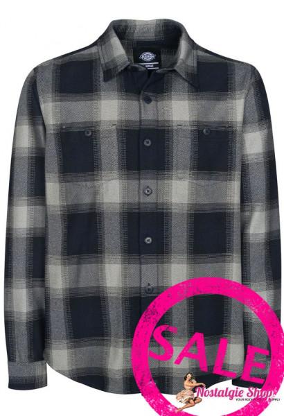 Holzfällerhemd Evanstone in dunkelblau/grau kariert