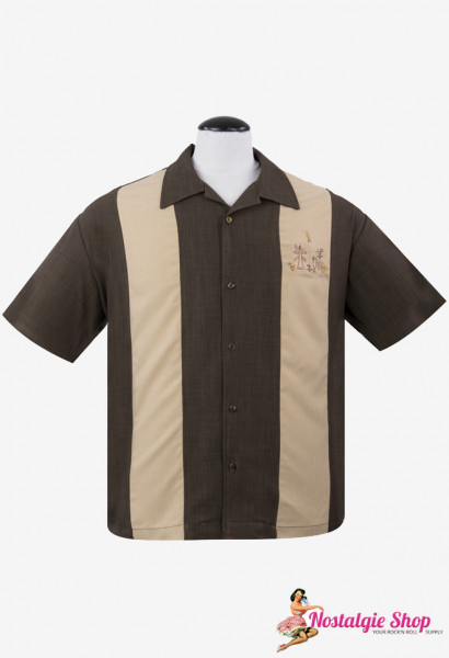 Steady Bowling Shirt - The Mickey