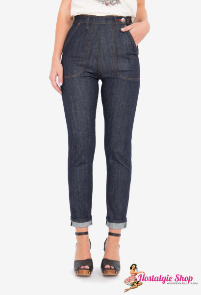 Queen Kerosin Stretch Selvedge Heritage Jeans