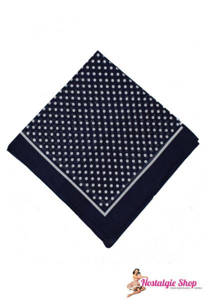 Tiki Bandana - Punkte blau