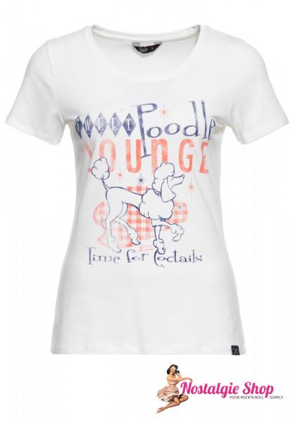"""Queen Kerosin Damen T-Shirt """"Poodle"""""""