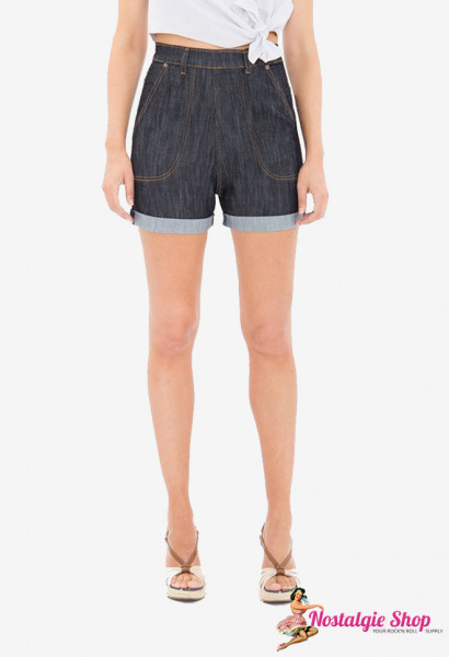 Denim Shorts Dip and Dry
