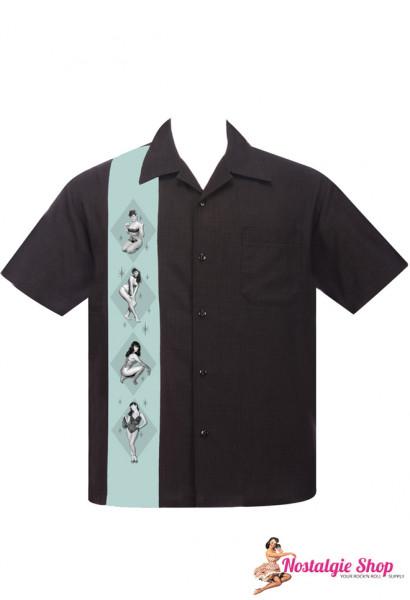 Steady Bowling Shirt - Betty Page