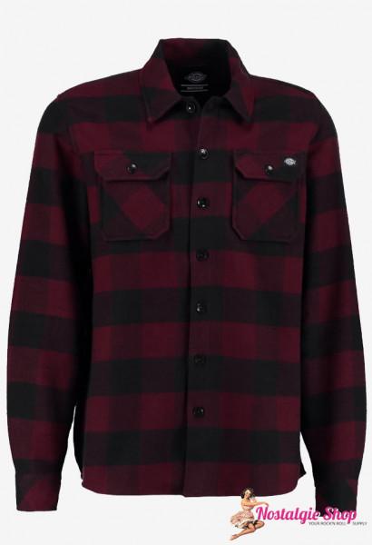 Holzfällerhemd Sacramento - bordeaux
