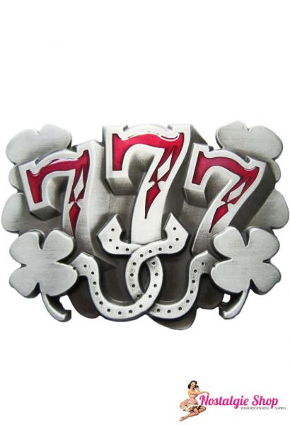 Buckle USA Buckle - Lucky Seven Rockabilly Gürtelschnalle