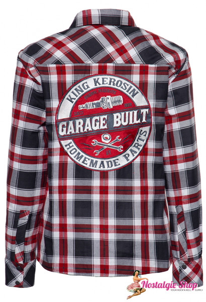 KK Outdoor Funktionshemd/Jacke Garage Built mit Softshell Innenfutter