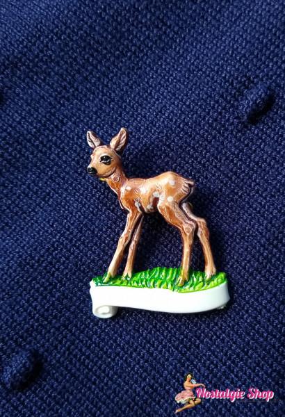 Retro Brosche Bambi
