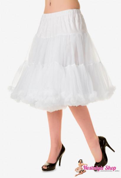 Petticoat Lang - weiß - der Beste im Internet