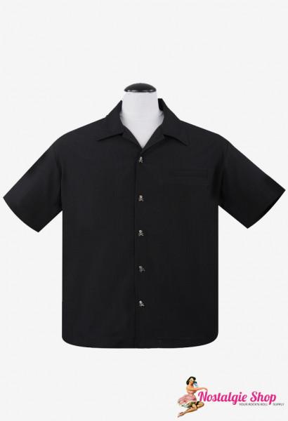 Steady Bowling Shirt - Pop Check Skull