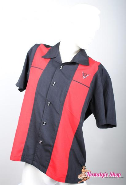 Steady Bowling Shirt - Classy Piston rot