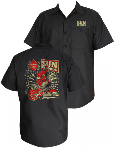 Steady Workshirt Sun Records - Hop 50er Rockabilly