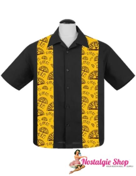 Steady Bowling Shirt - Sun Logo Mini Panel