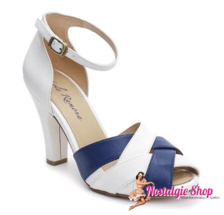 "Lola Ramona ""June Sailor Feeling"" - off-white/navy"