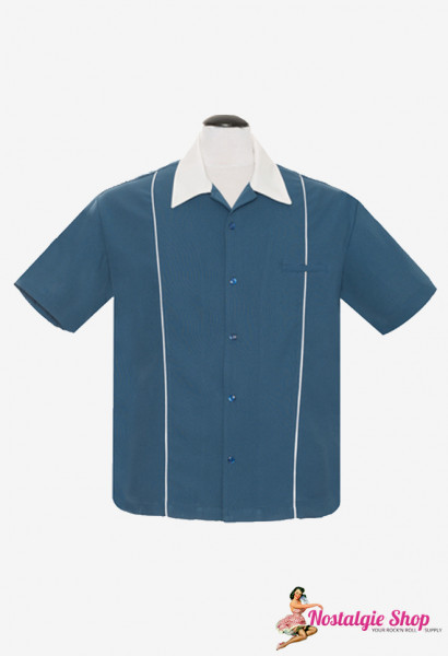 Steady Retro Bowling Shirt - The Shuckster