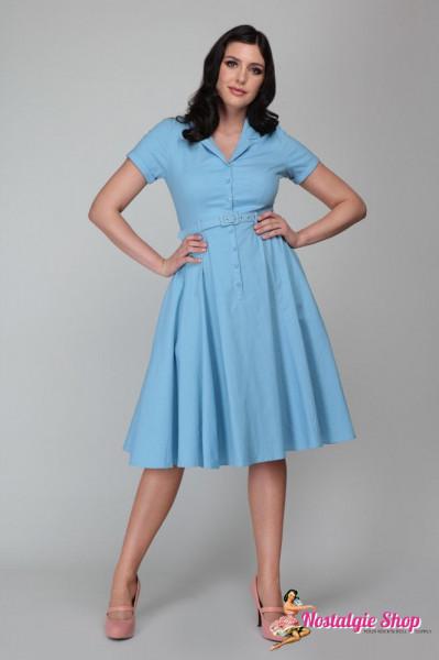 Collectif Caterina Swingkleid - blau