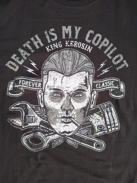 KK T-shirt Death is my copilot