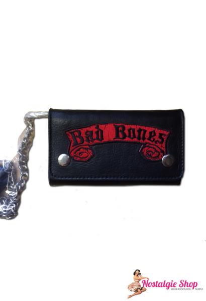 Running Bear Portemonnaie - Bad Bones Wallet with Chain Geldbörse