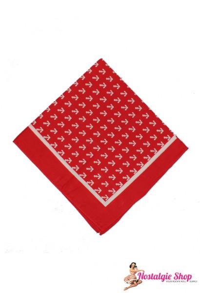 Tiki Bandana - Anker rot