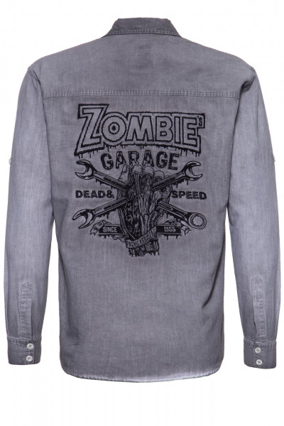 King Kerosin Workshirt - Zombie Garage